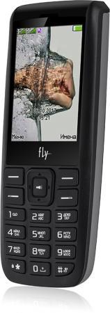Мобильный телефон Fly FF247 черный 2.4 32 Мб GPS мобильный телефон fly ff178 черный