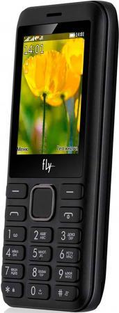 Мобильный телефон Fly FF249 черный 2.4 32 Мб мобильный телефон fly ff178 32mb black