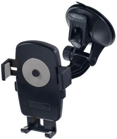 Автомобильный держатель Perfeo PH-528 до 6 на стекло черный автодержатель perfeo 515 для смартфона до 5 8 на стекло угловой черный серый