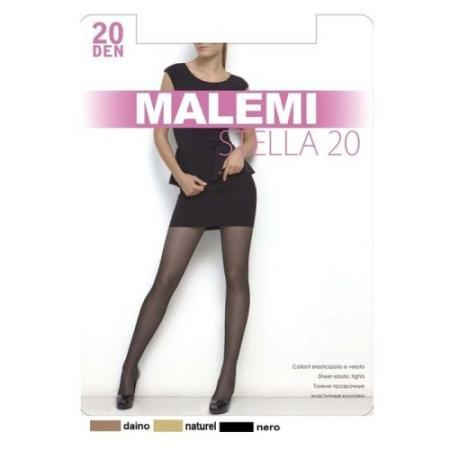 Колготки Malemi Stella 5 20 den черный conteколготки жен nuance 20 den натуральный natural r 5