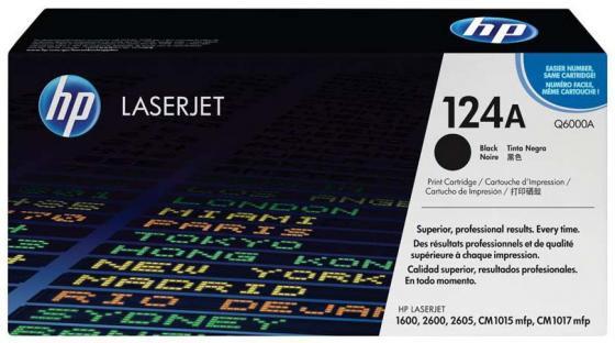 Фото - Картридж HP Q6000A черный для LaserJet 2600n hp 177 c8721he черный