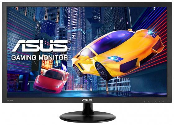 "Монитор 22"" ASUS VP228HE черный TN 1920x1080 200 cd/m^2 1 ms HDMI VGA Аудио монитор asus vp228he"