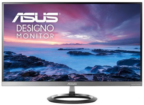"""Монитор 27"""" ASUS MZ27AQ серебристый черный IPS 2560x1440 350 cd/m^2 5 ms HDMI DisplayPort Аудио 90LM03C0-B01A70 монитор 27 asus mx27uq серебристый ah ips 3840x2160 300 cd m^2 5 ms hdmi displayport 90lm00g0 b01670"""