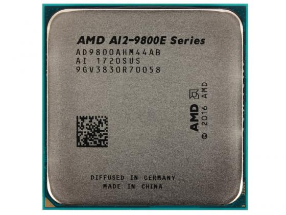 Процессор AMD A12 9800E AD9800AHM44AB Socket AM4 OEM процессор amd a10 9700 ad9700agm44ab socket am4 oem