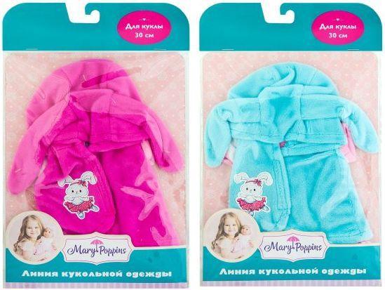 Одежда для кукол Mary Poppins Комбинезон и жилетка 452123 одежда для кукол mary poppins футболка и шортики 42 см 452061