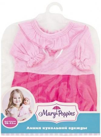 Одежда для кукол Mary Poppins Комбинезон Корона 204 одежда для кукол mary poppins футболка и шортики 42 см 452061