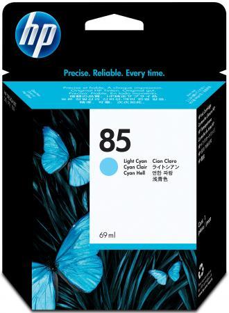 Картридж HP C9428A №85 для DeskJet 30/130 светло-голубой 69мл картридж hp inkjet cartridge 85 light cyan c9428a