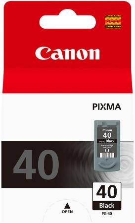 Картридж Canon PG-40 для Pixma MP450 MP170 MP150 iP2200 iP1600 черный saturn st cc0232