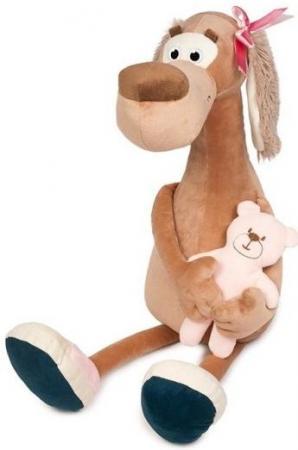 Мягкая Игрушка Собачка Мила с Мишкой 23 см мягкая игрушка собачка мила в платье 23см цвет бежевый
