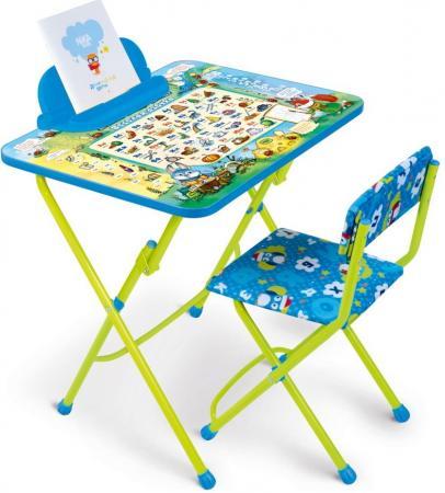Набор мебели Веселая азбука (стол+стул мягкий+пен) полимербыт красный стол азбука