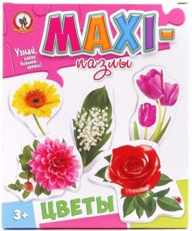 Пазлы Макси Цветы