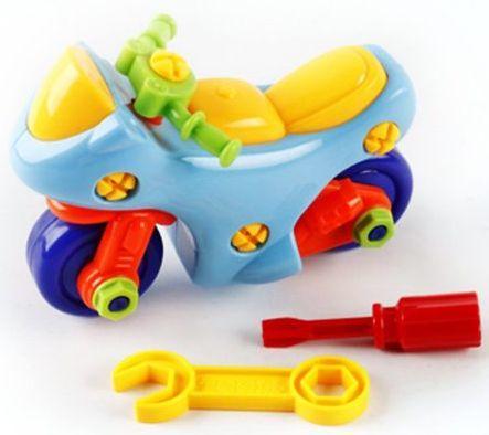 Конструктор-скрутка Наша Игрушка Мотоцикл 6700A-1 игрушка