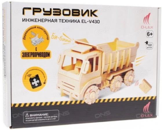 Деревянный конструктор D-Lex Грузовик с ДУ EL-V430 lex d selena zetta