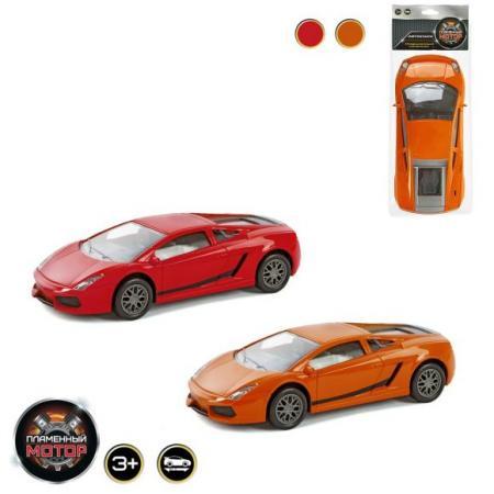 Машина Пламенный мотор Машина цвет в ассортименте от 3 лет пластик 87420 игрушка пламенный мотор 87420