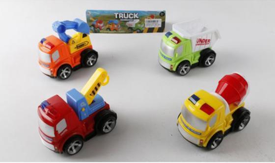 Автомобиль Наша Игрушка Truck - Строительная техника цвет в ассортименте 8806ABCD тойбнер армин фигурки и игрушки из бумаги ткани и горшочков