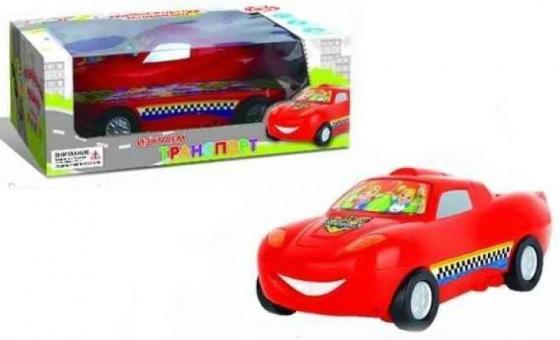 Автомобиль Наша Игрушка Изучаем транспорт красный ZYE-E0076 автомобиль наша игрушка автомаркет красный zya a2689 2
