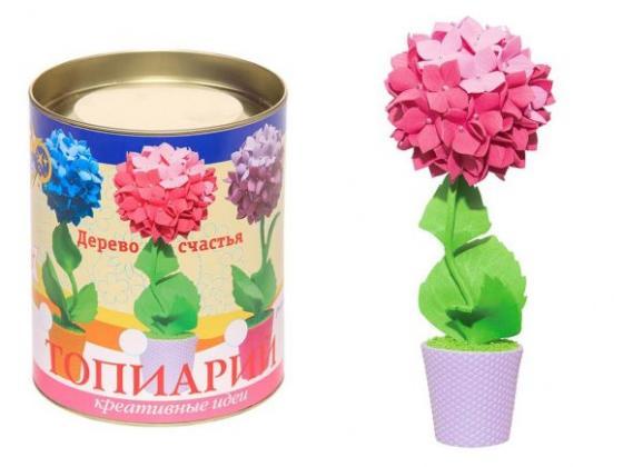 Набор для тв-ва топиарий малый Гортензия (розовая) все цены