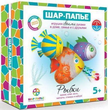 Набор для творчества Магнит Рыбки набор для творчества фикси магнит файер 2080