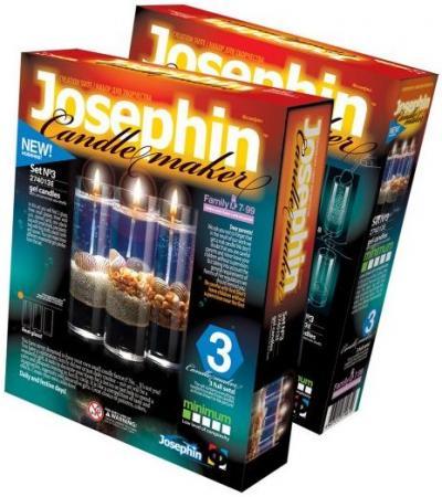 Свечи гелевые с ракушками набор №3 цены