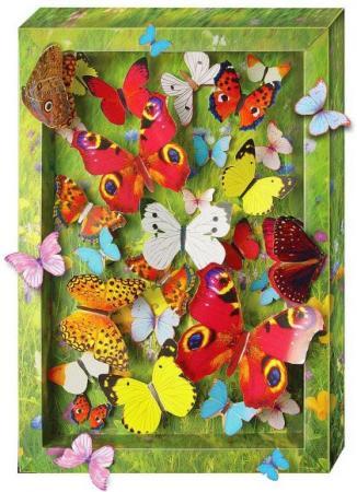 Набор для тв-ва Объемная картинка Взлетающие бабочки набор для тв ва топиарий малый крокусы фиолетовый желтый