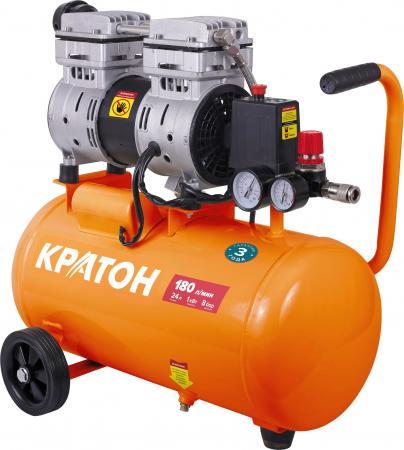 Компрессор КРАТОН AC-180-24-OFS с прямой передачей безмасляный компрессор автомобильный кратон ac 140 10 30
