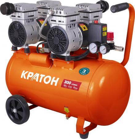 Компрессор КРАТОН AC-300-50-OFS с прямой передачей безмасляный компрессор автомобильный кратон ac 140 10 30