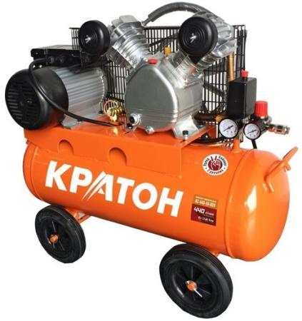 Компрессор КРАТОН AC-440-50-BDV ременной масляный 2200Вт 440л/мин 50л компрессор масляный