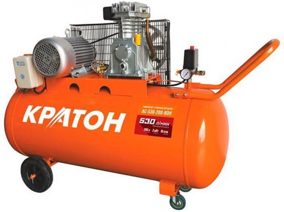 Компрессор Кратон AC-530-200-BDH 3.0кВт поршневой компрессор кратон ac 440 200