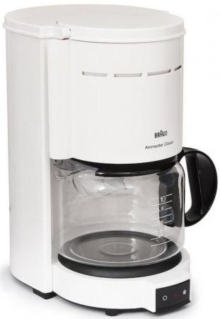 Кофеварка Braun KF47/1 1000 Вт белый цена и фото