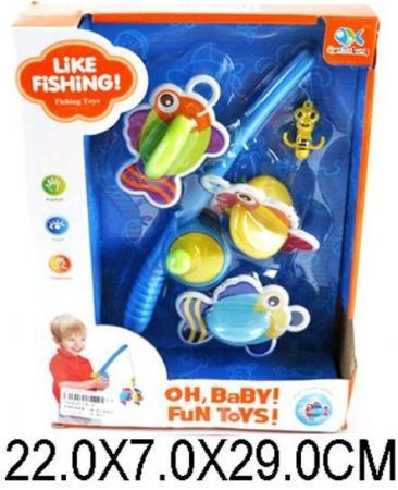 Магнитная игра рыбалка Наша Игрушка Любимая рыбалка 36-A цена