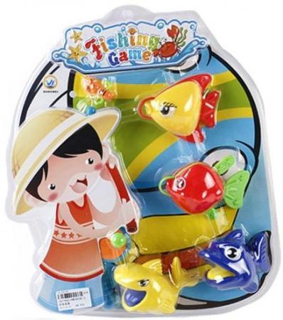 Магнитная игра рыбалка Наша Игрушка Набор Рыбалка BW30036-3 интерактивная игрушка наша игрушка рыбалка эл утенок от 3 лет жёлтый 9981 17a