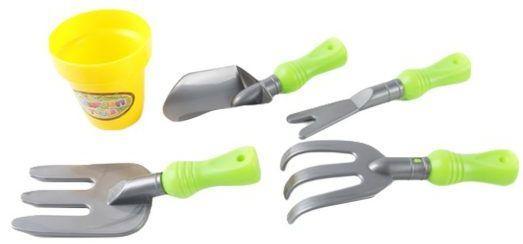 Набор Наша Игрушка Маленький садовник 5 предметов 1988-4 игрушка mehano 1 f101 набор рельс