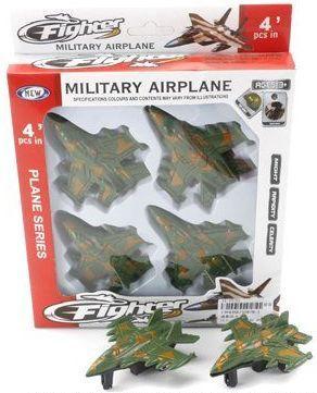 Набор Наша Игрушка Самолеты 4 предмета 5587B-1 игрушка mehano 1 f101 набор рельс