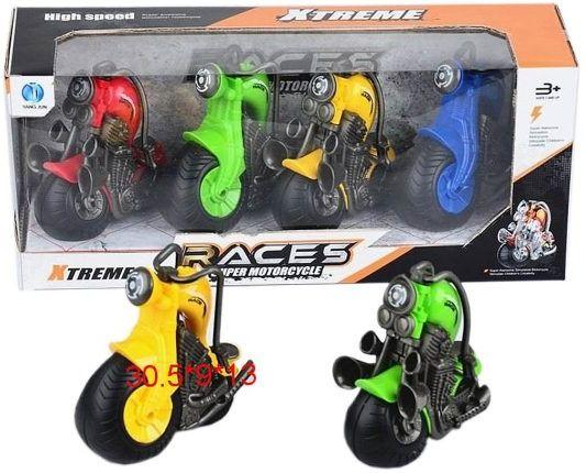 Набор Наша Игрушка Мотоциклы 4 предмета 606-4 игровой набор наша игрушка турист 4 предмета 100909847