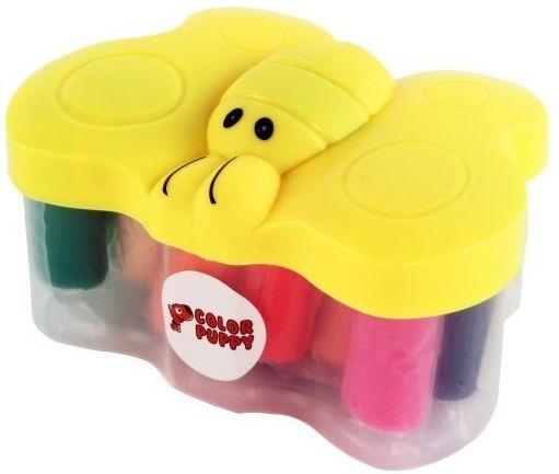 Тесто для лепки: 14 цветов, 210г, формочки, шприц всё для лепки color puppy тесто для лепки 26 цветов 442 г формы ролик