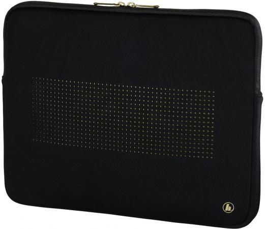 Чехол для ноутбука 13.3 HAMA Neoprene 00101795 неопрен черный золотистый