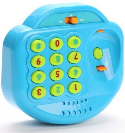 Интерактивная игрушка Наша Игрушка Телефончик детский от 18 месяцев синий WD3738 игрушка