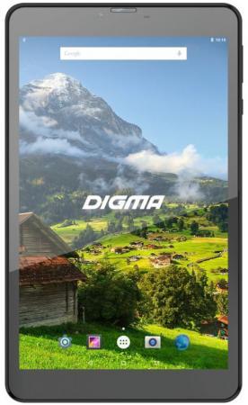 "цена Планшет Digma Plane 8555M 4G 8"" 16Gb Black Wi-Fi 3G Bluetooth LTE Android PS8168ML онлайн в 2017 году"
