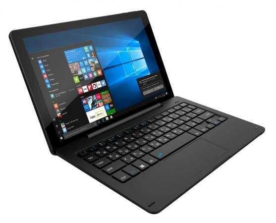 Фото Планшет Digma CITI 1804 10.1 32Gb Black Wi-Fi Bluetooth Windows CS1069EW сотовый телефон digma linx a177 2g