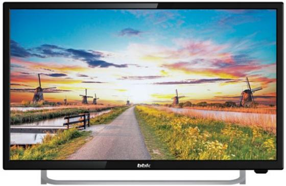 "Телевизор LED 24"" BBK 24LEM-1027/FT2C черный 1920x1080 50 Гц VGA HDMI USB цена и фото"