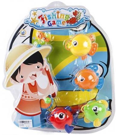 Интерактивная игрушка Наша Игрушка Рыбалка с крючком удочка от 3 лет BW30036-2 игрушка