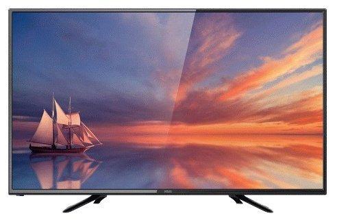 """Телевизор 32"""" POLAR P32L21T2SC черный 1366x768 50 Гц VGA USB"""
