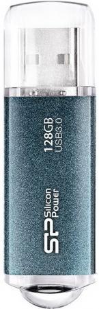 Флешка USB 128Gb Silicon Power Marvel M01 USB3.0 SP128GBUF3M01VSB синий цена и фото