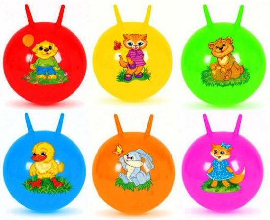 Мяч-попрыгун Наша Игрушка Мяч-попрыгунчик пластик от 3 лет разноцветный 63794 игрушка