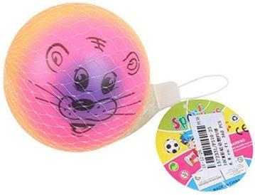 Мяч-попрыгун Наша Игрушка Мяч Радость пластик от 3 лет разноцветный P110-25 цена