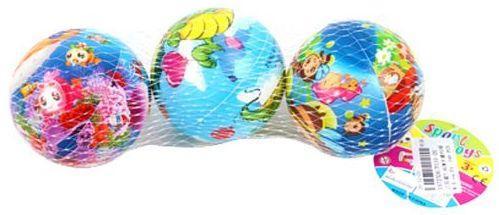 Мяч-попрыгун Наша Игрушка Мяч, 7,5см пластик от 3 лет разноцветный P110-20 мяч попрыгун наша игрушка мяч веселые цифры пластик от 3 лет разноцветный 4132b 4