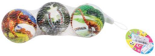 Мяч-попрыгун Наша Игрушка Мяч Динозавры пластик от 3 лет разноцветный P110-19 мяч попрыгун наша игрушка мяч веселые цифры пластик от 3 лет разноцветный 4132b 4