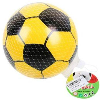 Мяч-попрыгун Наша Игрушка Мяч Футбол пластик от 3 лет желтый E6004 цена
