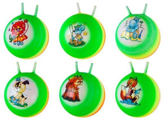 Мяч-попрыгун Наша Игрушка Радужный пластик от 3 лет разноцветный 635151 интерактивная игрушка наша игрушка лабиринт фрукты со счетами от 3 лет spyh173286