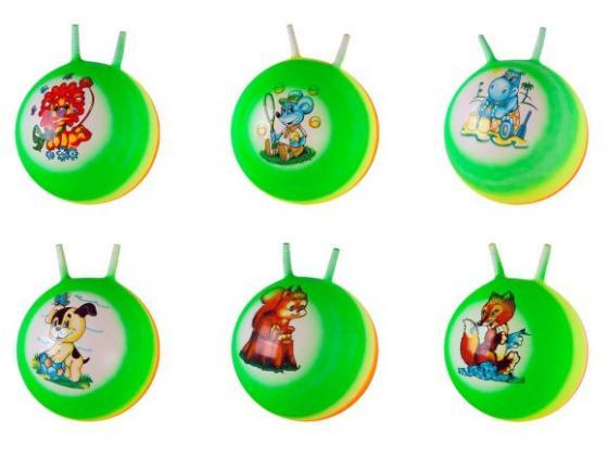 Мяч-попрыгун Наша Игрушка Радужный пластик от 3 лет разноцветный 635150 цена